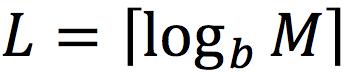 L=_log_b_M _