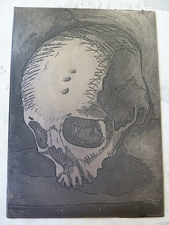Final etching plate