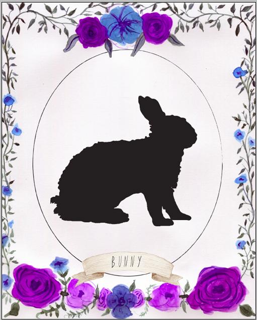 bunnysilhouette