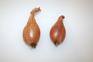 03 - Zutat Schalotten / Ingredient shallots