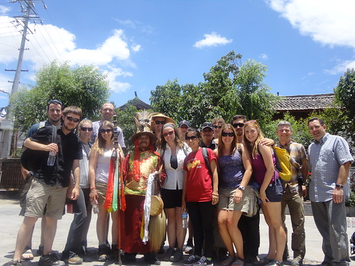 Study Abroad group in China