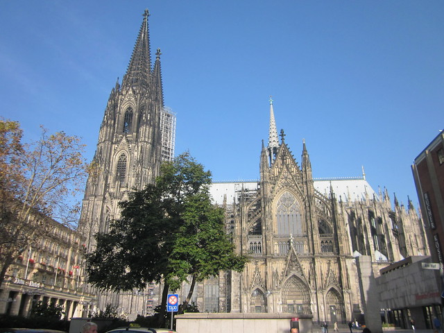 and yes i admit its a grand structure and climbing to the top for a view of cologne is the must do tourist experience but surely there has to be more - Koln Must See