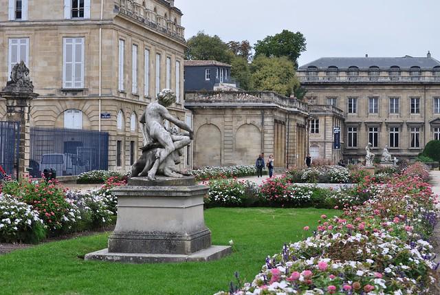 Terrasse burguet jardin public bordeaux gironde for Jardin public bordeaux