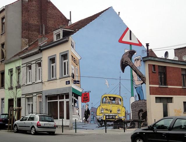 Bruxelas e o mundo fantástico dos gibis e desenhos animados