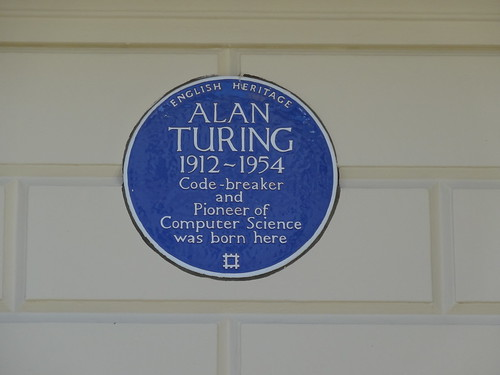106 - Alan Turing Blue Plaque