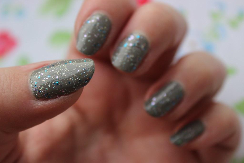 Many Glitter Nail Polish