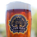 Live Oak pint glass by David Kampa