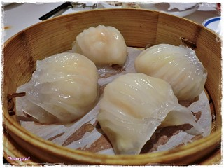 蝦餃 shrimp dumplings