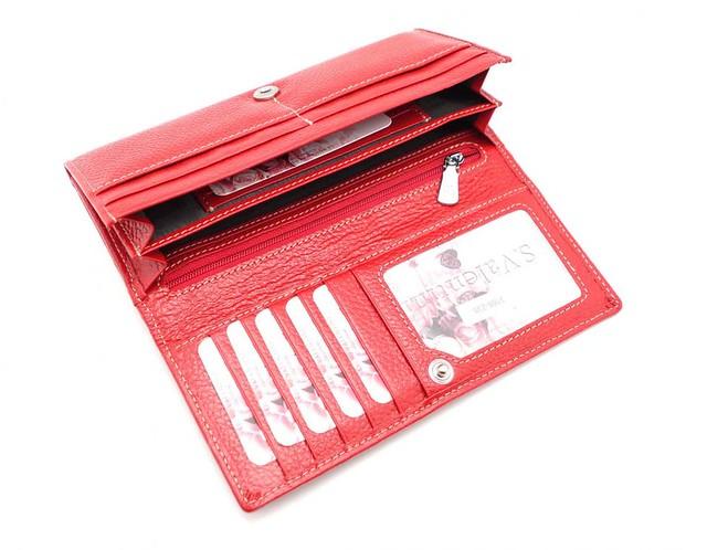 Женские кожаные кошельки и портмоне, коллекция СВ 3169