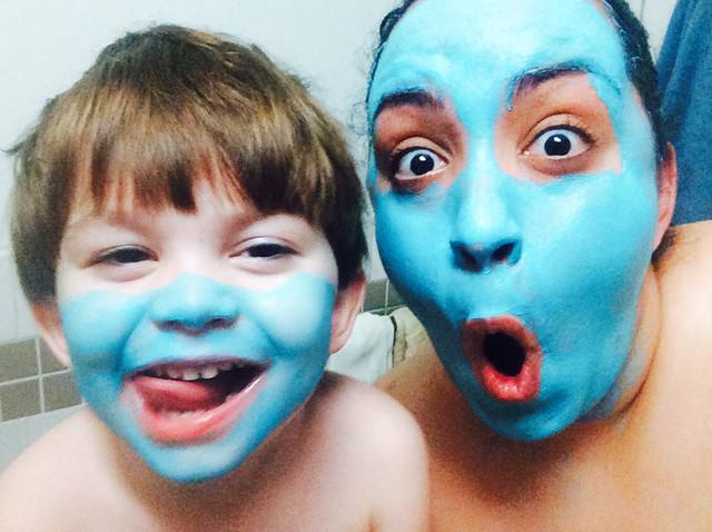 Facial Mask Fun!