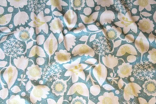 Flower Garden fabric at Spoonflower