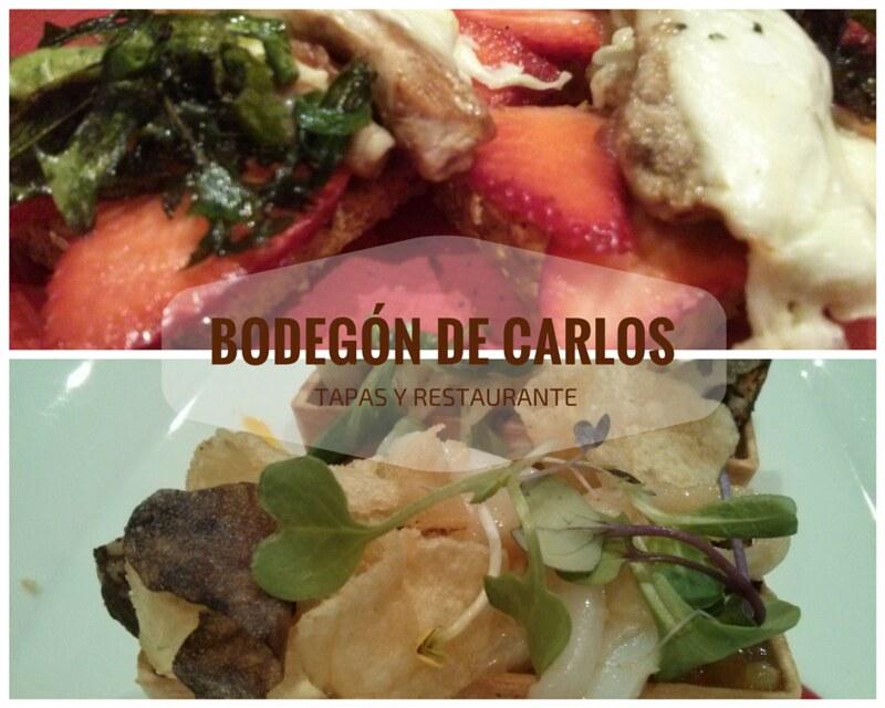 BODEGÓN DE CARLOS - Vila-real - Ruta de la tapa 2016
