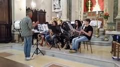 Saggio degli allievi della scuola di Musica di Cerreto d'Esi e della Junior Band di Fabriano!