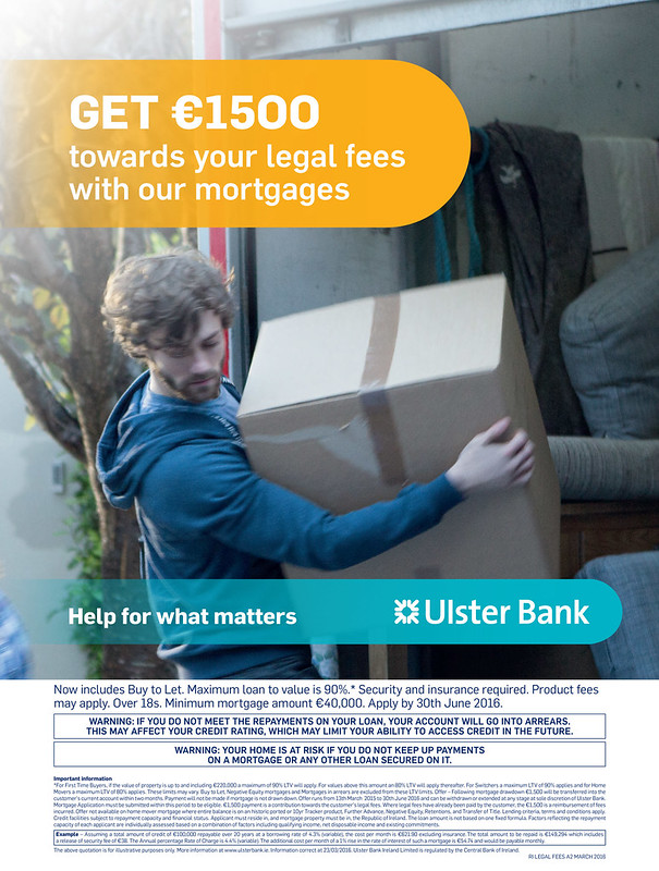 Ulster Bank poster