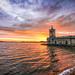 0444 - England, Rutland Water, Normanton Church HDR by Barry Mangham