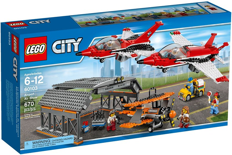 LEGO City Sets 2016: 60103 - Airport Air Show