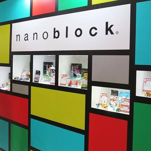カワダさんのブース #東京おもちゃショー2016 #ナノブロックアンバサダー