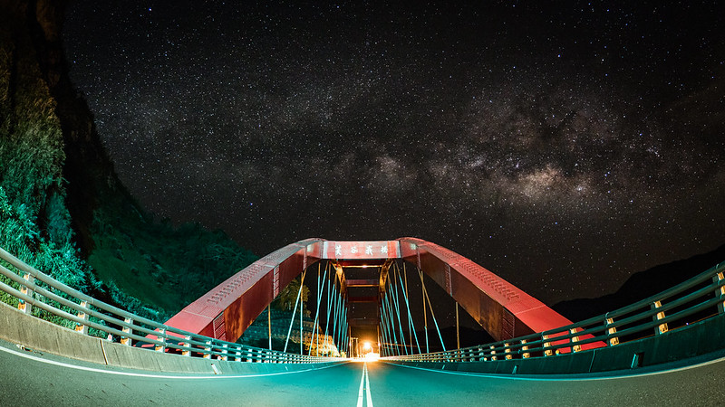 Milkyway 夏季銀河 芙谷峩橋 阿里山|PEN-F PENF