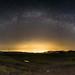 Milky Way over Tbilisi
