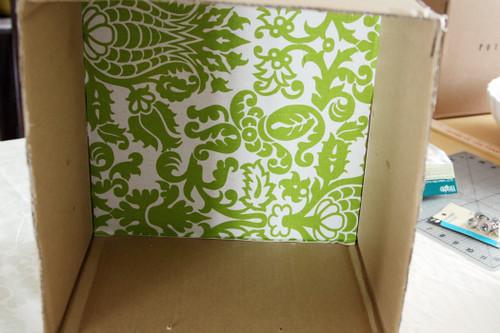 Como fazer uma caixa organizadora
