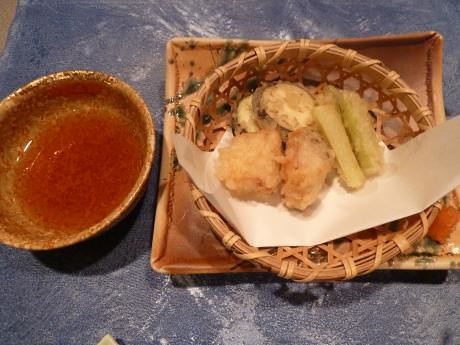 トスラブ箱根 和奏林 料理 油皿