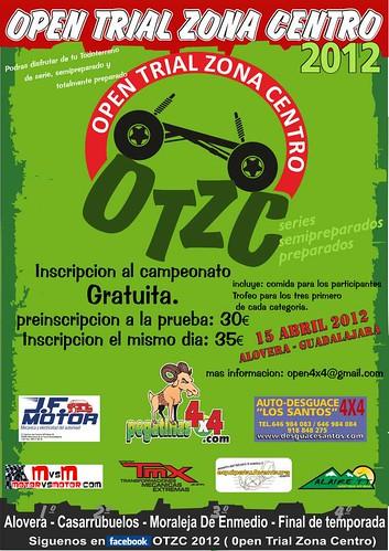 Open Trial Zona Centro 4x4 Alovera 2012