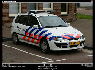 Dutch Police - Mitsubishi Space Star (91-TG-ZF)