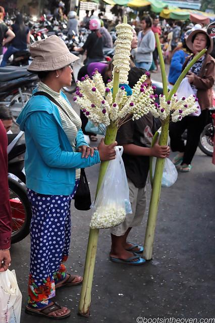 Threaded Jasmine Flowers