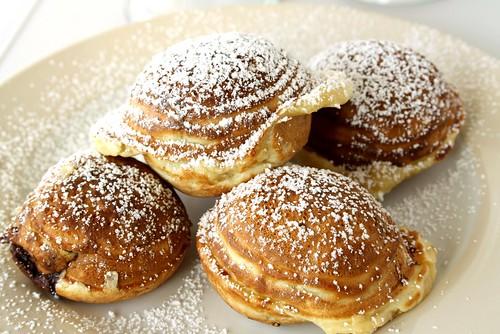 Nutella-Filled Danish Pancakes