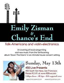 Emily Zisman & Ryan Avery at 450 Live