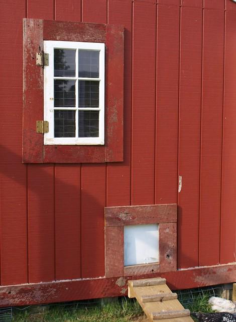 Chicken Coop Window And Door Flickr Photo Sharing