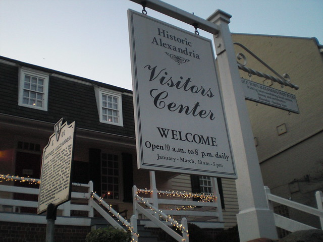 Visitor Center Historic Alexandria Virginia 2012