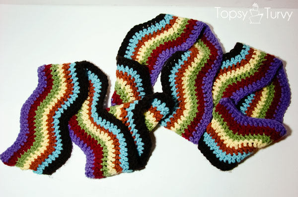 rainbow-chevron-crochet-long-scarf