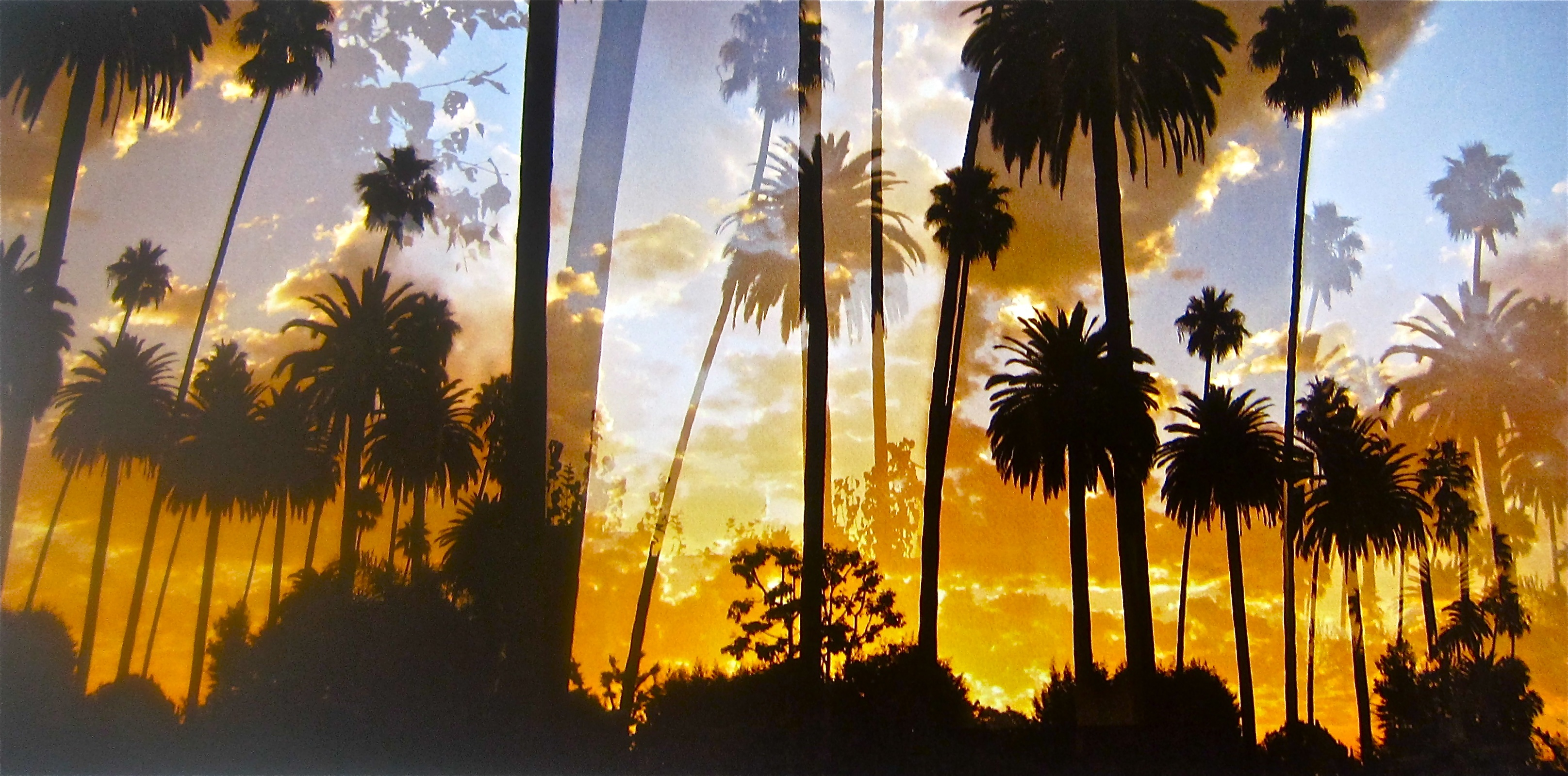Bedford Drive Sunset, Beverly Hills