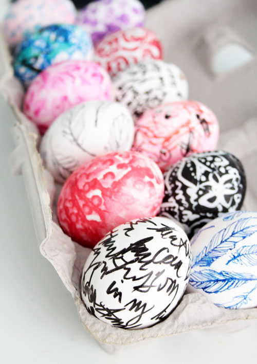 Alisaburke everyday decorating easter eggs Creative easter egg decorating ideas