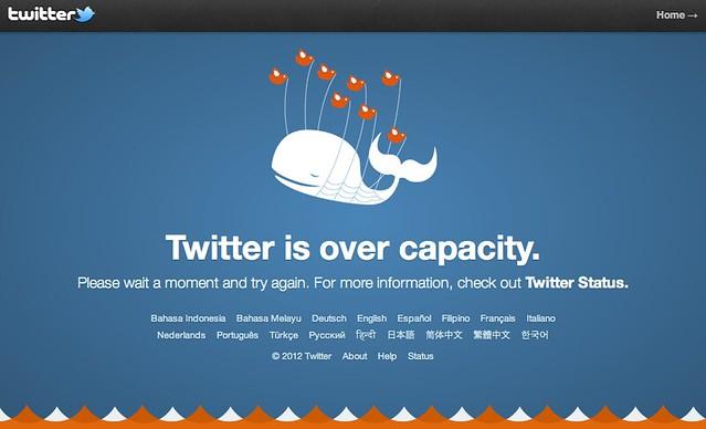 New Twitter Fail Whale 2012