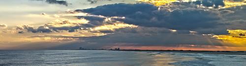 usa newjersey waves unitedstates nj panoramas sunsets lbi longbeachisland atlanticcity oceans atlanticocean stitched oceancounty hdr crepuscularrays holgate panoramics barrierislands edwinbforsythenationalwildliferefuge longbeachtownship littleegginlet
