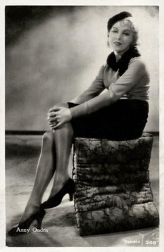 Vintage Postcard ANNY ONDRA Movie Star   eBay