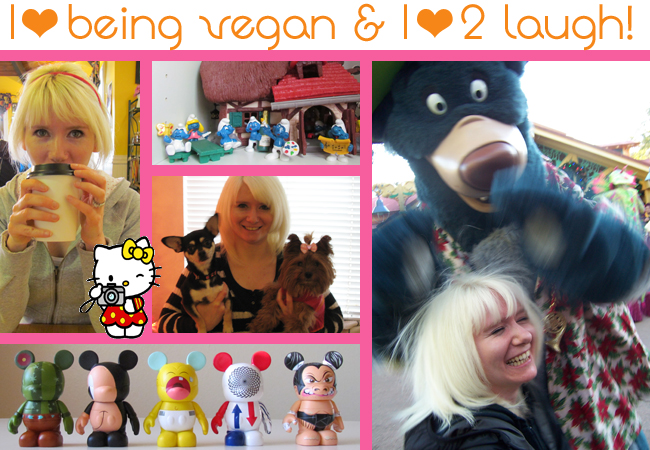 ABOUT page veganlaugh
