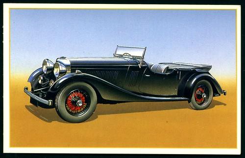 Tradecard - 1934 Bentley 3.5 litre