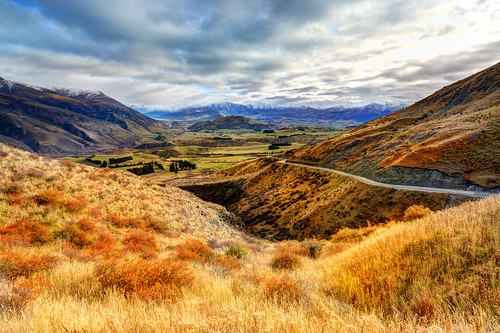 The Valley Between Queenstown and Arrowtown