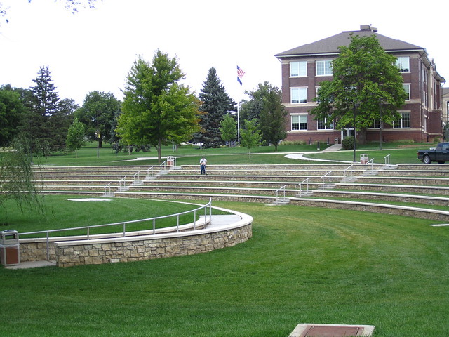 Renovated Willow Bowl Wayne State College Campus Flickr