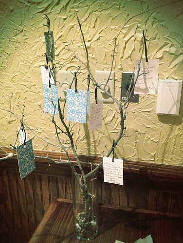 Wishing Tree with Wishes