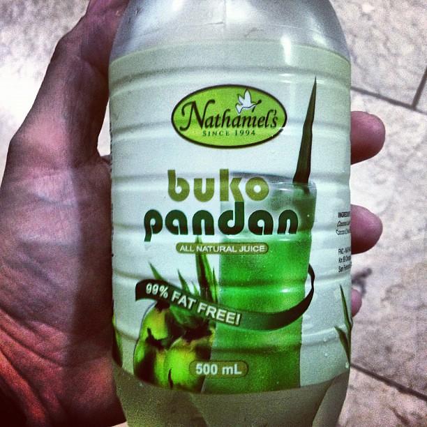 Buko pandan juice