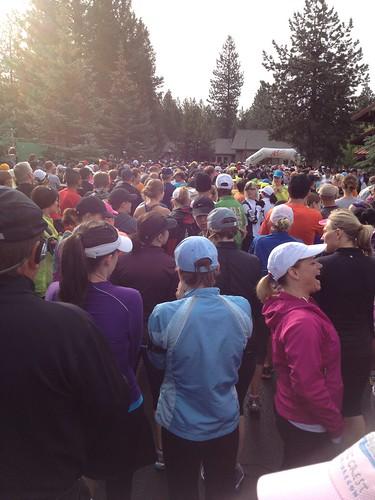 Pacific Crest 1/2 marathon 2012