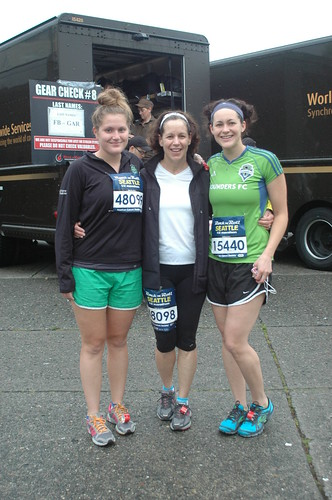 Seattle Rock and Roll Half-Marathon 2012