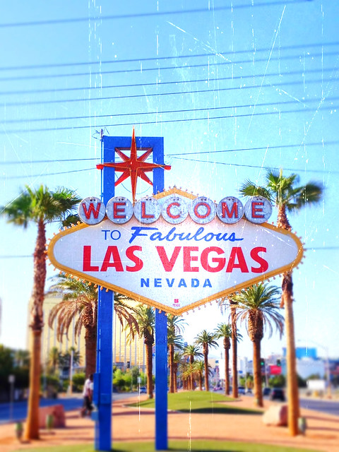 Las Vegas Sign- Summer 2012