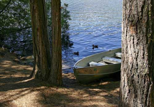Hume Lake Boat