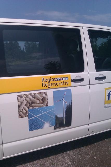 Fesa's volkswagen bus