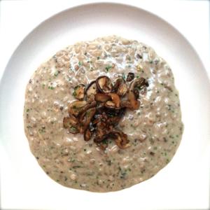 10 mushroom risotto